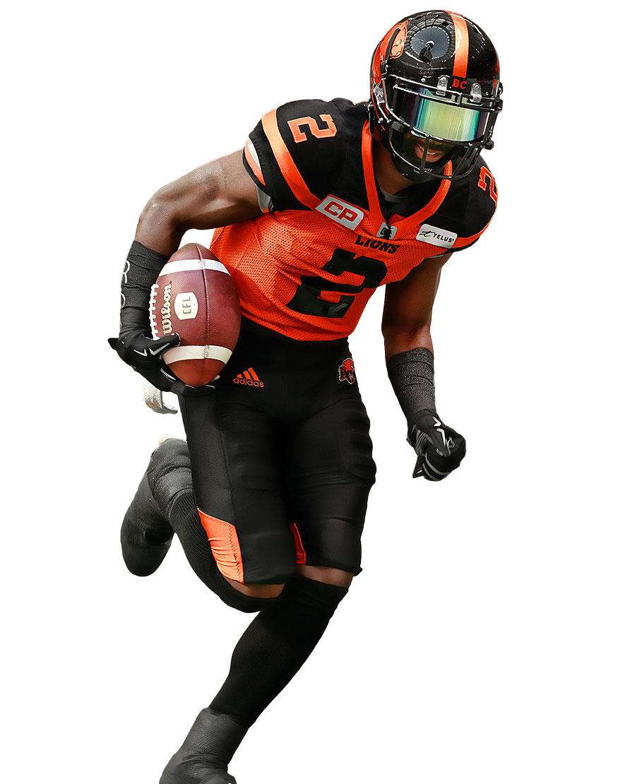 Chris Rainey of the BC Lions